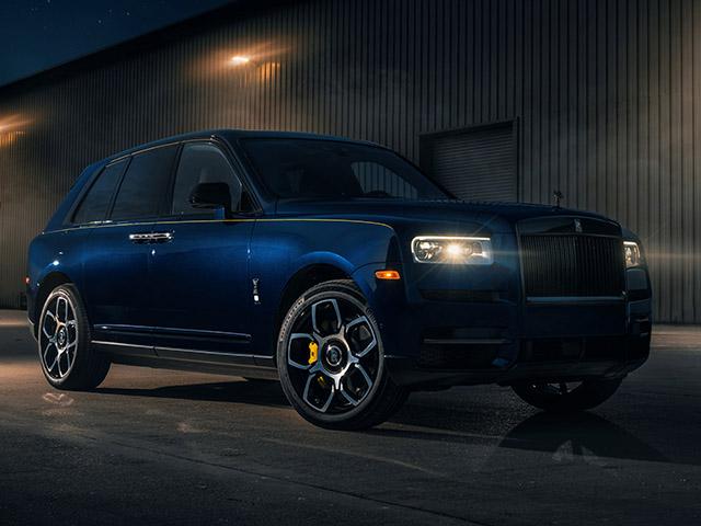 Rolls-Royce Cullinan ngầu hơn trong gói nâng cấp Black Badge