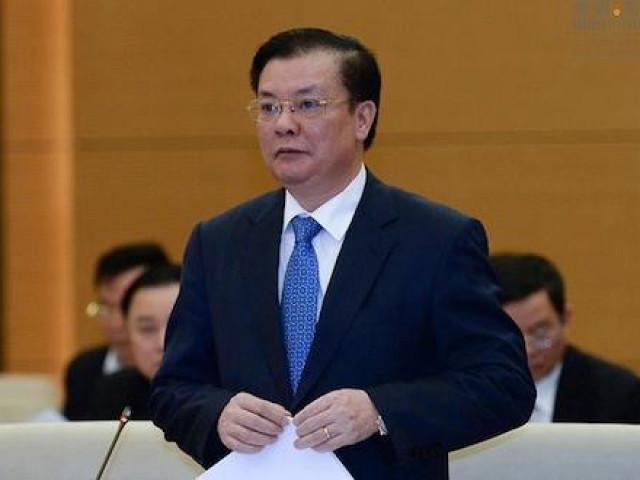 Bộ trưởng Đinh Tiến Dũng làm Bí thư Thành ủy Hà Nội