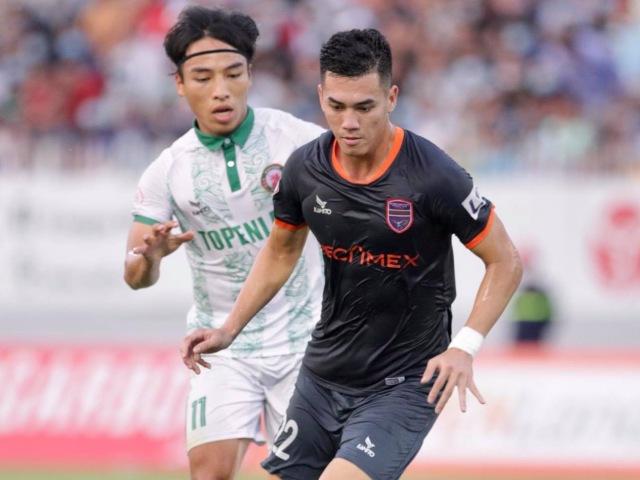 Trực tiếp bóng đá Than Quảng Ninh - Bình Dương: Đội khách bế tắc tấn công (H1)
