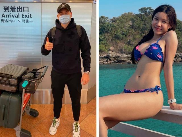 Đặng Văn Lâm tới Nhật Bản chờ  thi đấu J-League, bạn gái nóng bỏng động viên