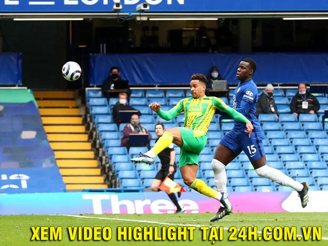 Video Chelsea - West Brom: Thẻ đỏ bất ngờ, đại địa chấn tại Stamford Bridge