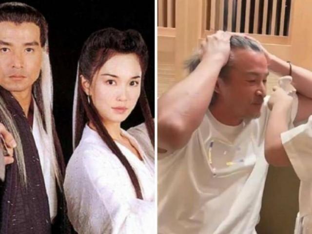 """""""Dương Quá"""" Lý Minh Thuận U50 râu tóc bạc, bị chê như ông cháu với con trai"""