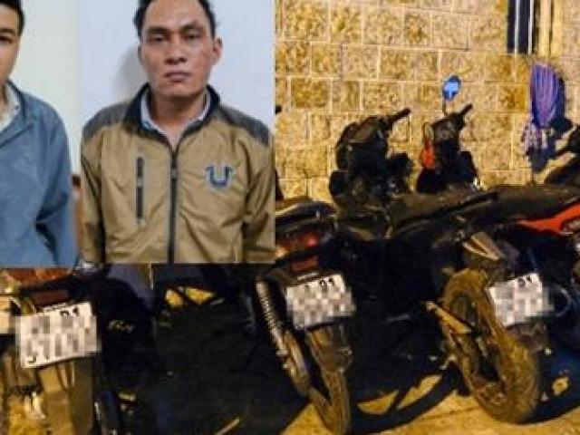 Thuê ô tô đi trộm xe máy