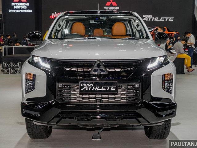 Bản đặc biệt Athlete của dòng xe Triton sắp được ra mắt tại Malaysia