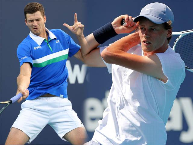 Video tennis Sinner - Hurkacz: 2 set chóng vánh, tân vương lộ diện (chung kết Miami Open)