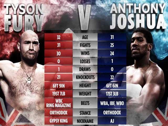 Nóng nhất thể thao tối 5/4: Joshua và Fury muốn lật kèo trận siêu đại chiến