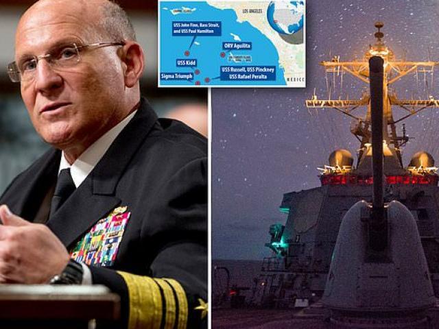 Tư lệnh hải quân Mỹ nói về loạt UFO bám đuổi 4 chiến hạm ở ngoài khơi California