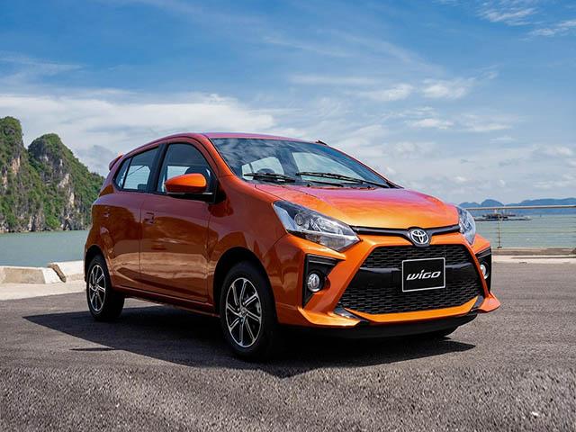 Giá xe Toyota Wigo lăn bánh tháng 4/2021