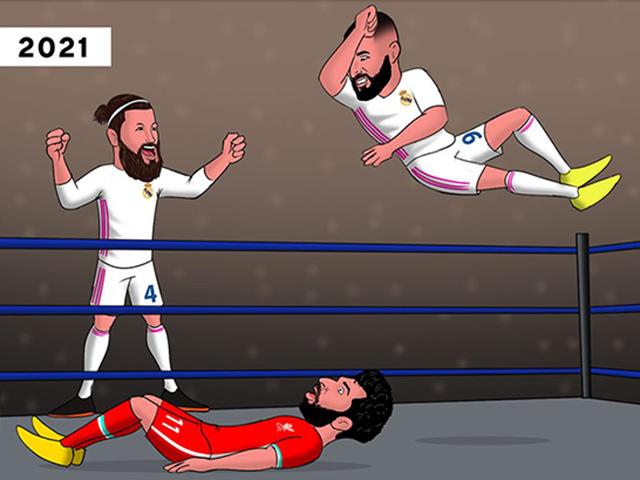 """Ảnh chế: Liverpool thảm bại, """"ác mộng"""" lặp lại khiến fan run rẩy"""