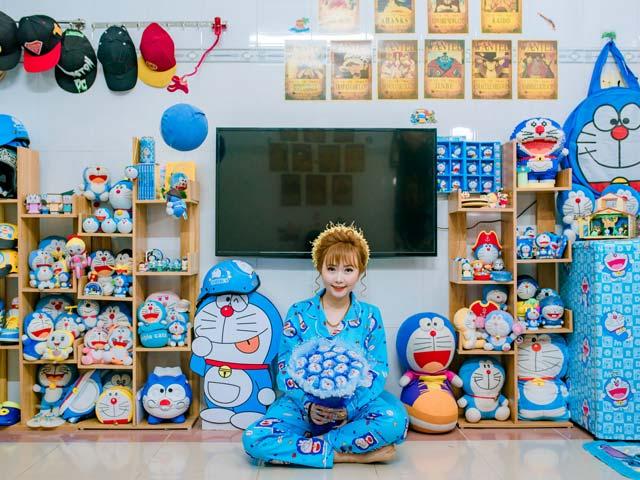"""Cô dâu Bạc Liêu tổ chức đám hỏi đặc biệt, phòng tân hôn ngập tràn """"mèo máy Doraemon"""""""