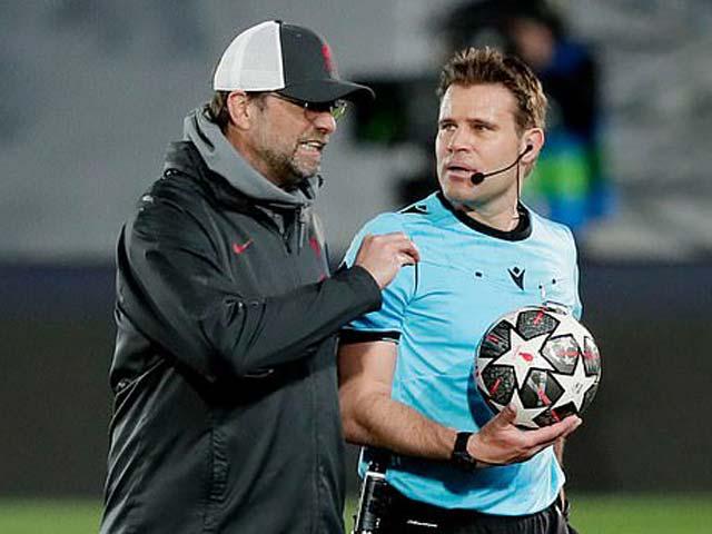 Liverpool đại bại trước Real Madrid: Klopp bực dọc, chê trọng tài ác cảm với Mane