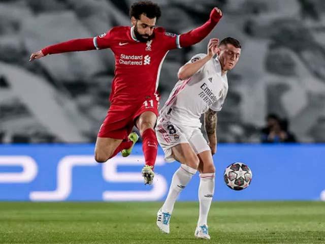 Trực tiếp bóng đá Real Madrid - Liverpool: Thong dong đón thắng lợi (Hết giờ)