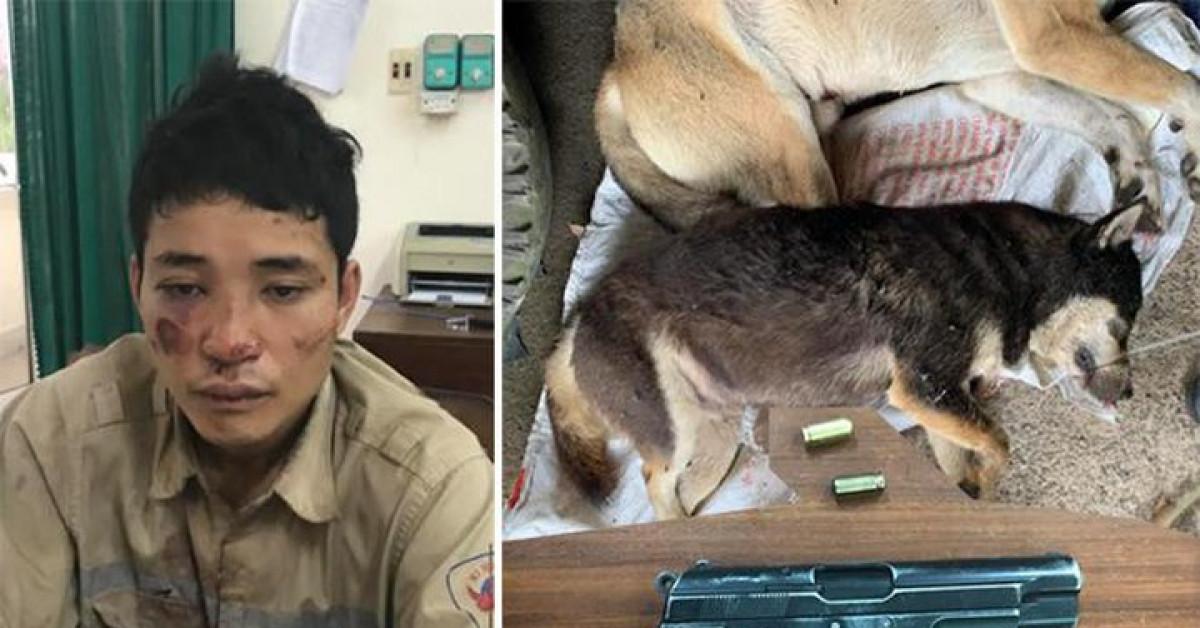 Trộm chó, dùng súng bắn đạn cao su chống trả cảnh sát