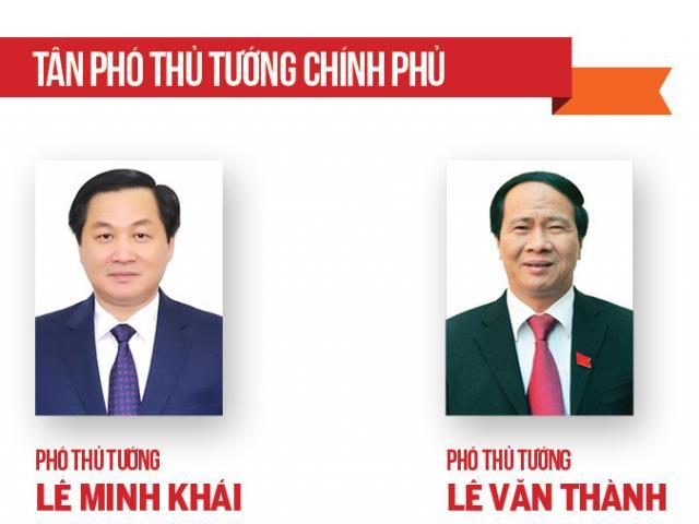Chân dung 2 Phó Thủ tướng và 12 Bộ trưởng, Trưởng ngành vừa được Quốc hội phê chuẩn bổ nhiệm