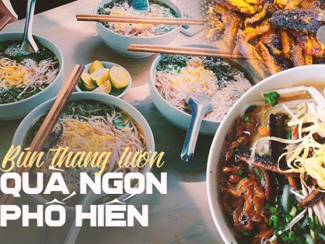 Bún thang lươn: Món đặc sản Hưng Yên không chỉ ngon còn tốt như thang thuốc quý
