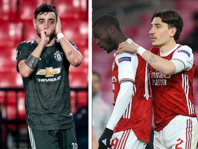 """Rực lửa Europa League: MU thắng nhàn, Arsenal nếm """"trái đắng"""" phút 90+4"""