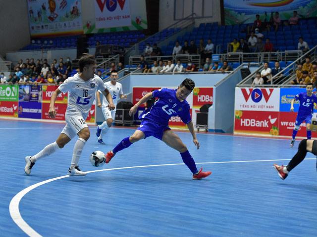 Khai mạc giải futsal VĐQG: Ngược dòng nghẹt thở, Thái Sơn Nam nhận cú sốc