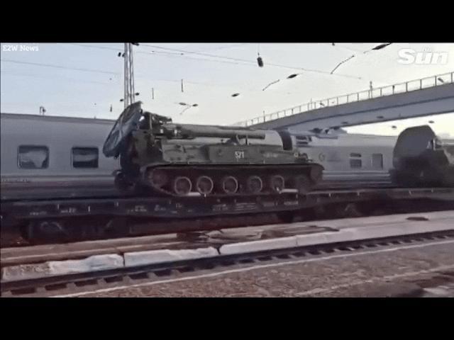Video: Nga đưa siêu súng cối tự hành có thể bắn đạn hạt nhân đến biên giới Ukraine?