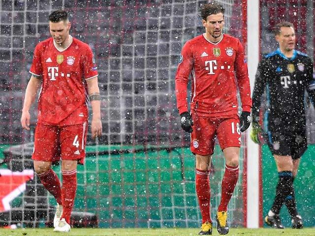 """Bayern Munich nguy cơ bị hạ bệ cúp C1: Lewandowski báo tin buồn, """"tan đàn xẻ nghé"""""""