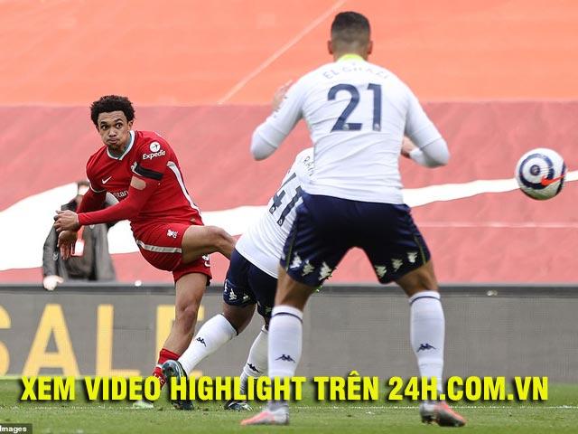 Video Liverpool - Aston Villa: Vỡ òa phút bù giờ, ngược dòng gay cấn