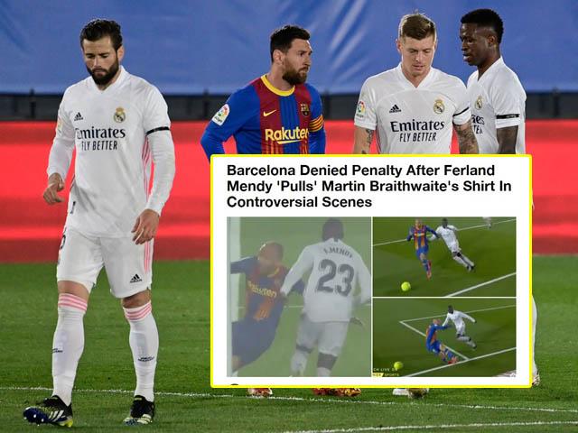 Real Madrid đánh bại Barca: Báo chí ca ngợi Zidane, tố trọng tài sai lầm