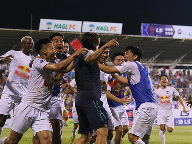 Vỡ òa HAGL bay cao trên bảng xếp hạng V-League:  Viettel bám sát, sắp đại chiến Hà Nội FC
