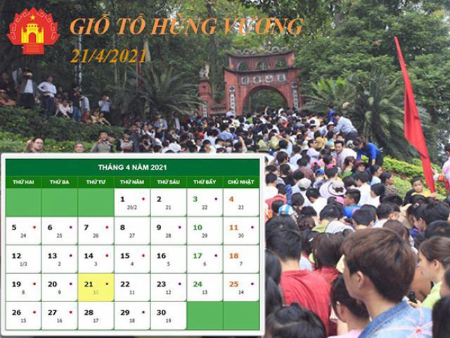 Lễ hội Đền Hùng năm 2021 được tổ chức như thế nào?