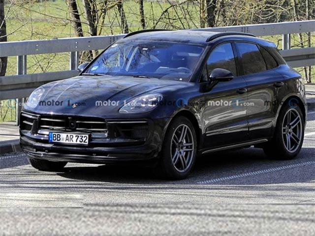 Porsche Macan phiên bản nâng cấp lộ diện trên đường thử