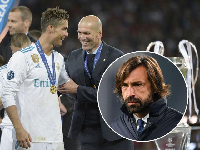"""Juventus chiều lòng Ronaldo: """"Trảm"""" Pirlo, tính đón Zidane mơ vô địch cúp C1"""