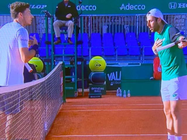 Sửng sốt Monte Carlo: 2 tay vợt bỏ chơi, cãi nhau vì chuyện bạn gái