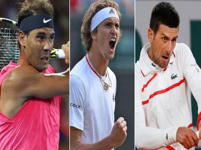 Trực tiếp Monte Carlo ngày 3: Djokovic, Nadal, Zverev đồng loạt xuất trận