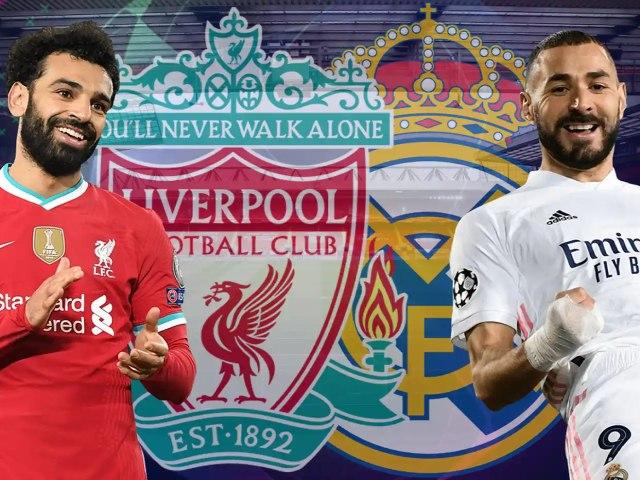 Trực tiếp bóng đá cúp C1, Liverpool - Real Madrid: Nỗ lực không thành (Hết giờ)