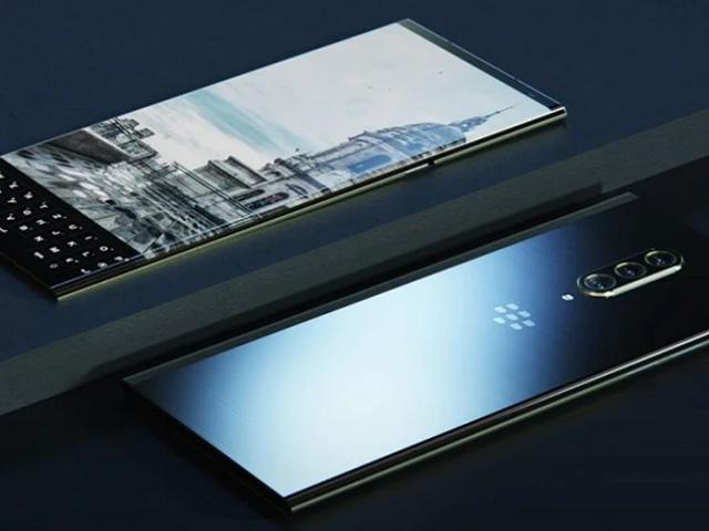 Độc đáo ý tưởng smartphone 5G đầu tiên của BlackBerry