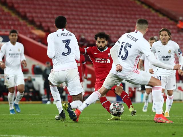 """Kết quả bóng đá Cúp C1 Liverpool - Real Madrid: Cơ hội liên hồi, dấu ấn """"người nhện"""""""
