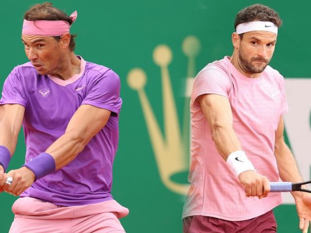 Trực tiếp tennis Nadal - Dimitrov: Thắng lợi dễ dàng (Kết thúc)
