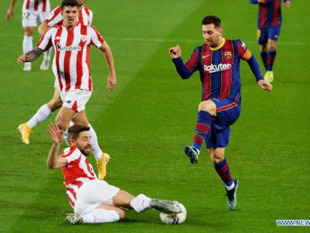 """Nhận định bóng đá Bilbao – Barcelona: Messi """"rửa hận"""", ngôi báu chờ tân vương (Chung kết Cúp Nhà Vua)"""