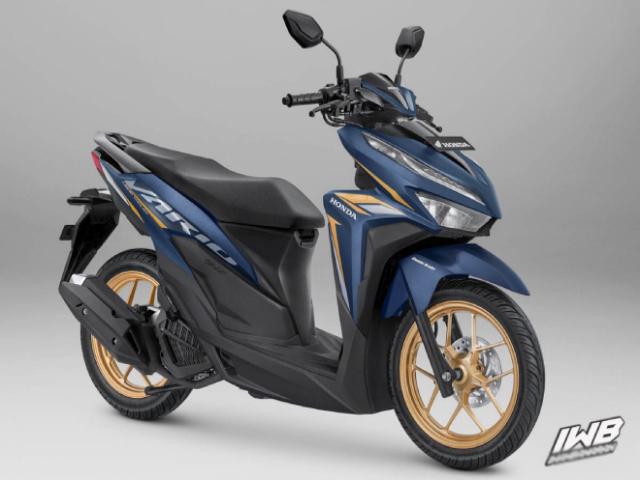 Xe ga 2021 Honda Vario 125 khoác áo mới, thể thao hơn
