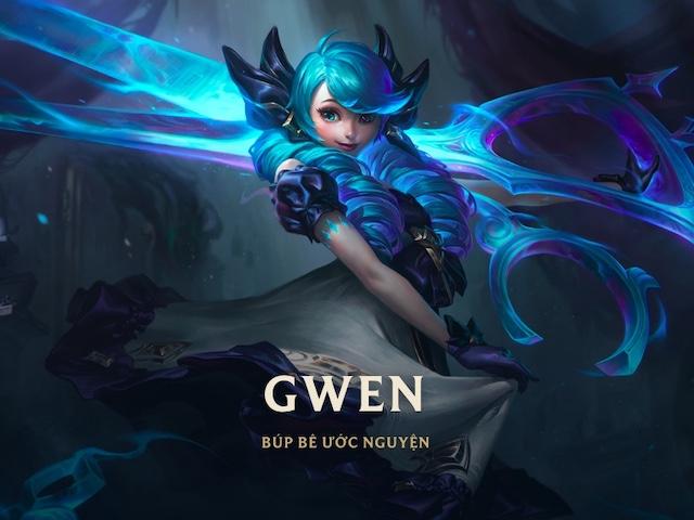 LMHT: Tìm hiểu nữ tướng Gwen - Búp Bê Ước Nguyện qua video