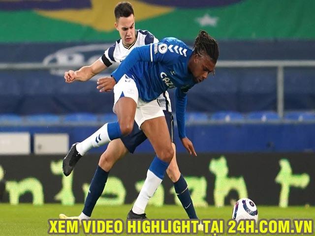 """Video Everton - Tottenham: Rượt đuổi ngoạn mục, Kane gặp """"đối cứng"""""""