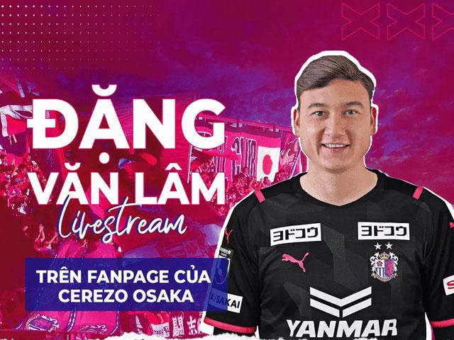 """Văn Lâm chính thức ra mắt CLB Nhật Bản: Tự tin """"bắn"""" tiếng Anh cực đỉnh"""