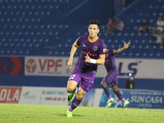 Đội hình tiêu biểu vòng 10 V-League: Xuân Trường sát cánh Trọng Hoàng, Tiến Linh