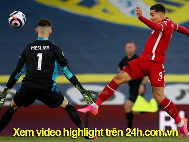 Video Leeds - Liverpool: Đôi công ngang ngửa, bước ngoặt phút 87