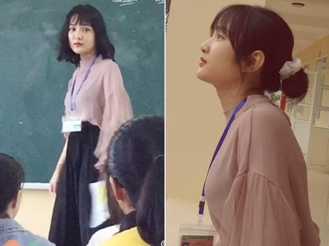 Bị chụp lén, cô giáo Thanh Hoá nổi tiếng bất thình lình vì quá xinh