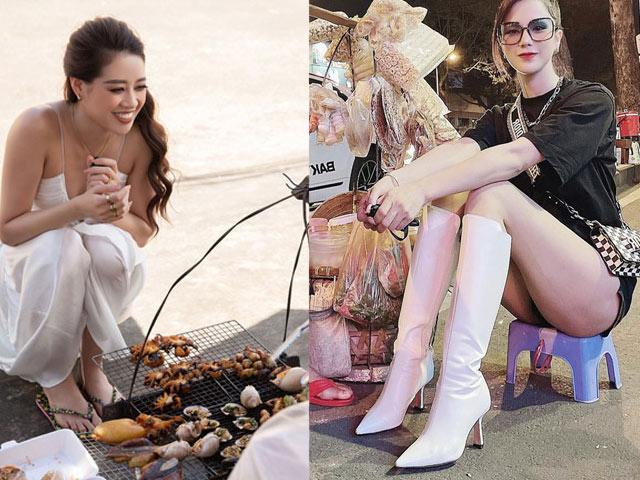 """Người đẹp Việt khiến dân tình """"mất tập trung"""" với thời trang dạo phố"""