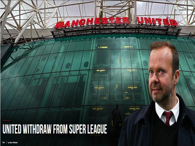 Giám đốc điều hành Ed Woodward từ chức, MU CHÍNH THỨC rời Super League