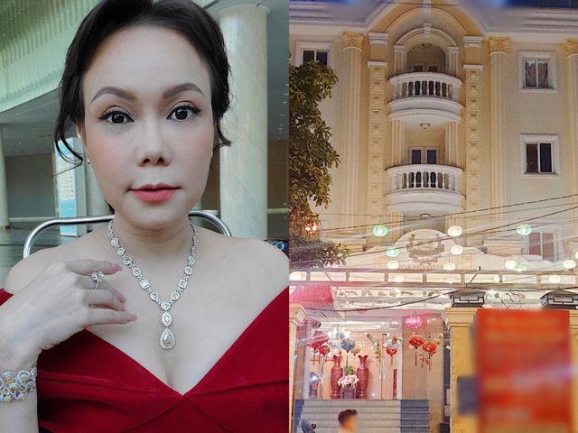 """Cơ ngơi """"khủng"""" như cung điện của vợ chồng Việt Hương khiến dân mạng choáng ngợp"""