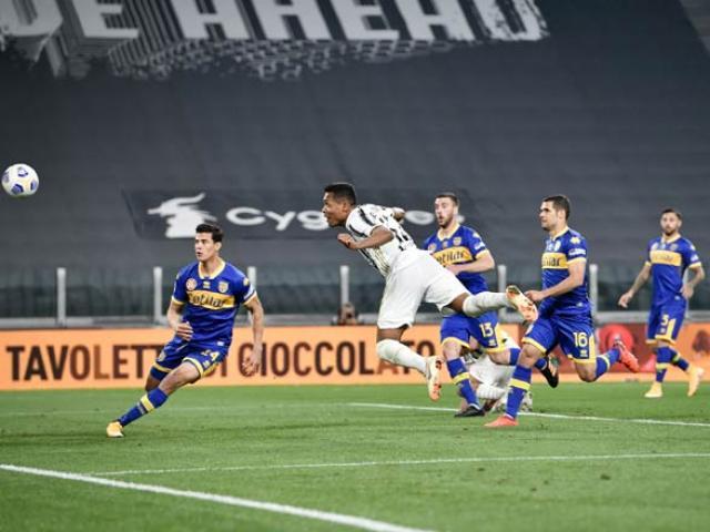 Video Juventus - Parma: Ronaldo nuối tiếc, siêu hậu vệ tỏa sáng