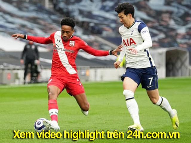 Video Tottenham - Southampton: Cô lập hàng công, mở điểm đẳng cấp (H1)