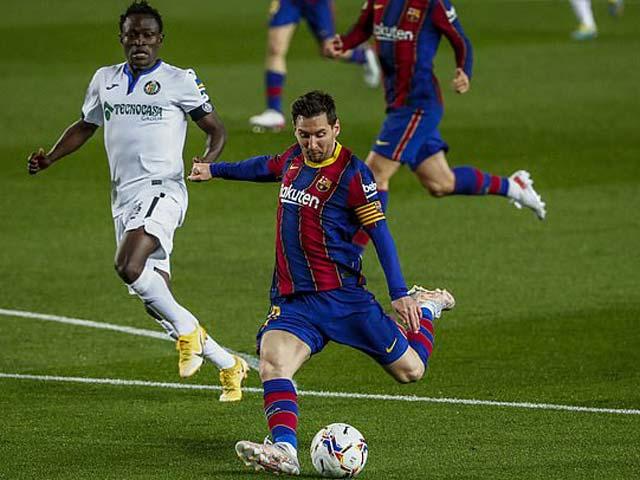 Video Barcelona - Getafe: Messi thăng hoa, đại tiệc 7 bàn thắng