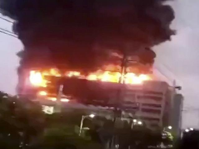 Nhà cung cấp của Apple tại Trung Quốc cháy lớn, 8 người thiệt mạng